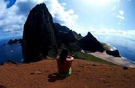 Vista da Ilha Trindade